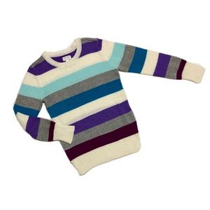 Like New Place Striped Knit Sweater 7-8M